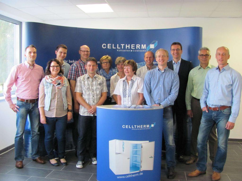 Immer für Sie da: das CELLTHERM Sales-Support-Team